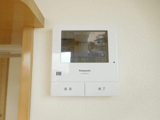 TVモニター付きインターホン(内装)
