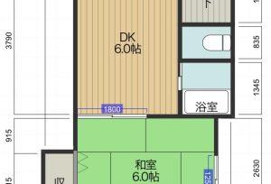 コーポササキ B号室