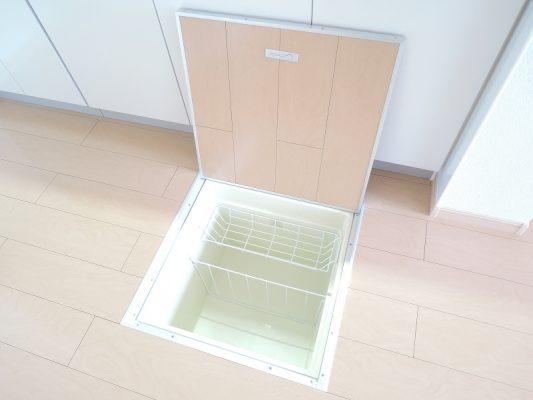 床下収納(地図)