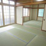 一階の和室の続間は畳の表替えをしました(和室)