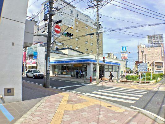 ローソン八戸長横町ゆりの木通店(周辺)